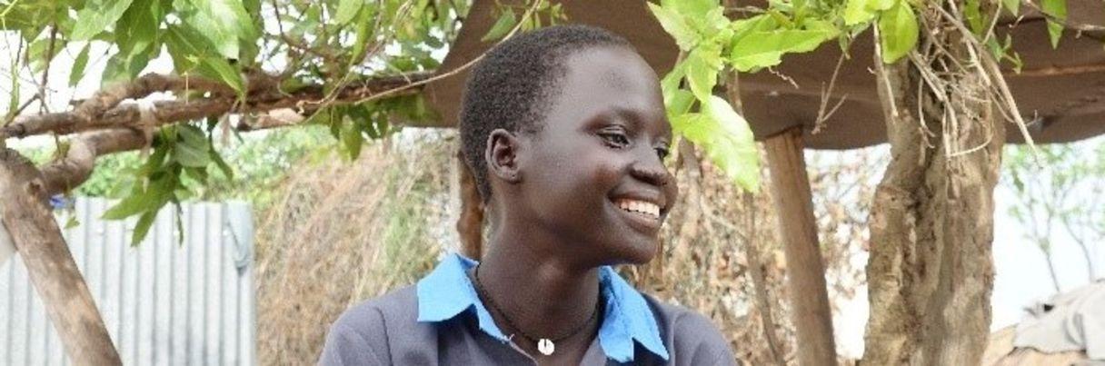 Bildungsförderung von Mädchen im Rhinocamp, Norduganda